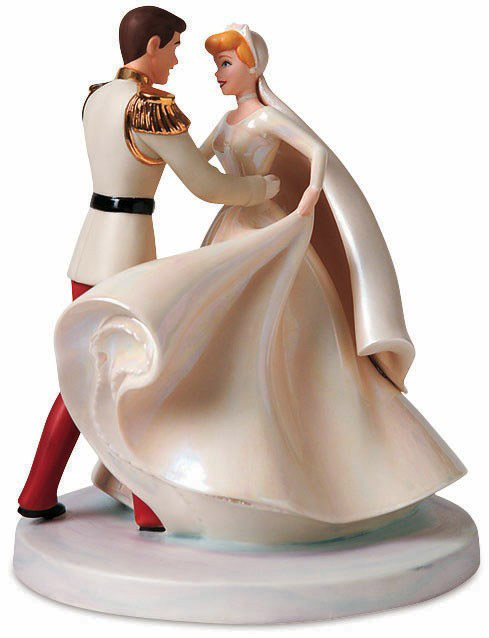 "Cinderella and Prince Charming. ""Happily Ever After"""